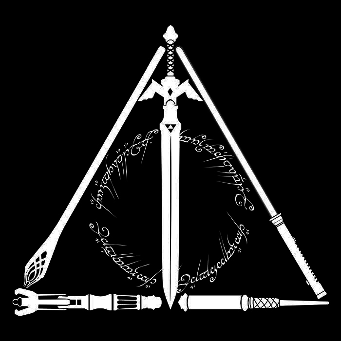 Once Upon a Tee: Geeky Hallows