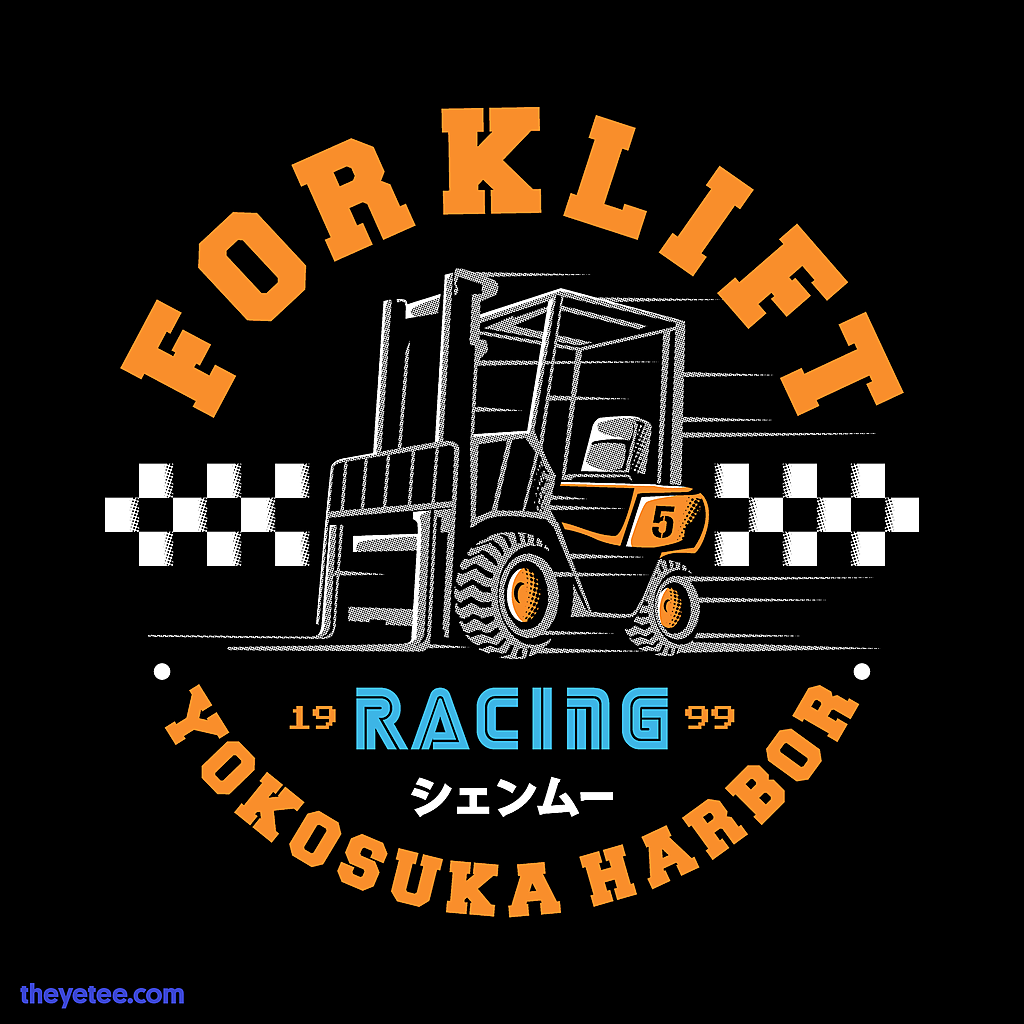 The Yetee: Forklift Racer