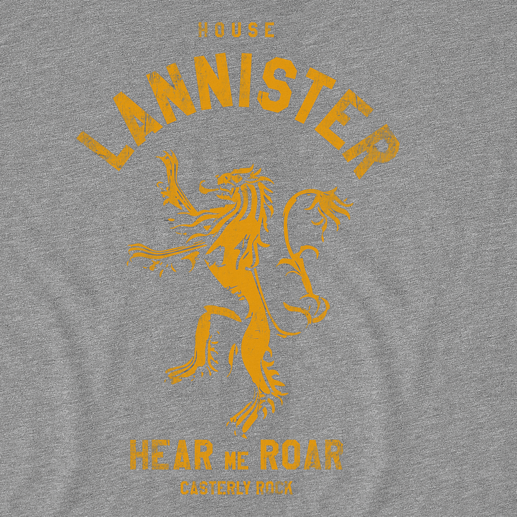 Pop-Up Tee: House Lannister