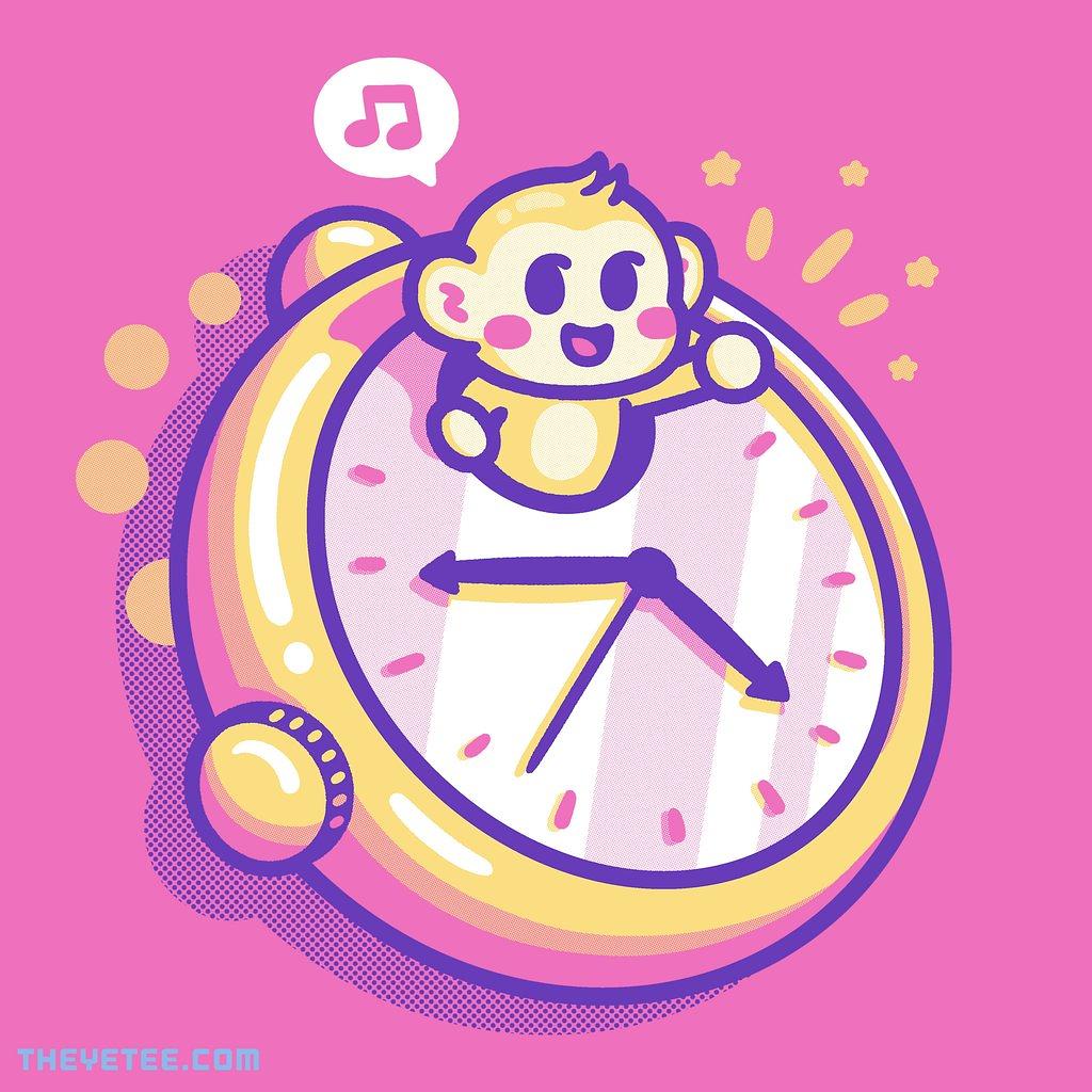 The Yetee: Monkey Clock