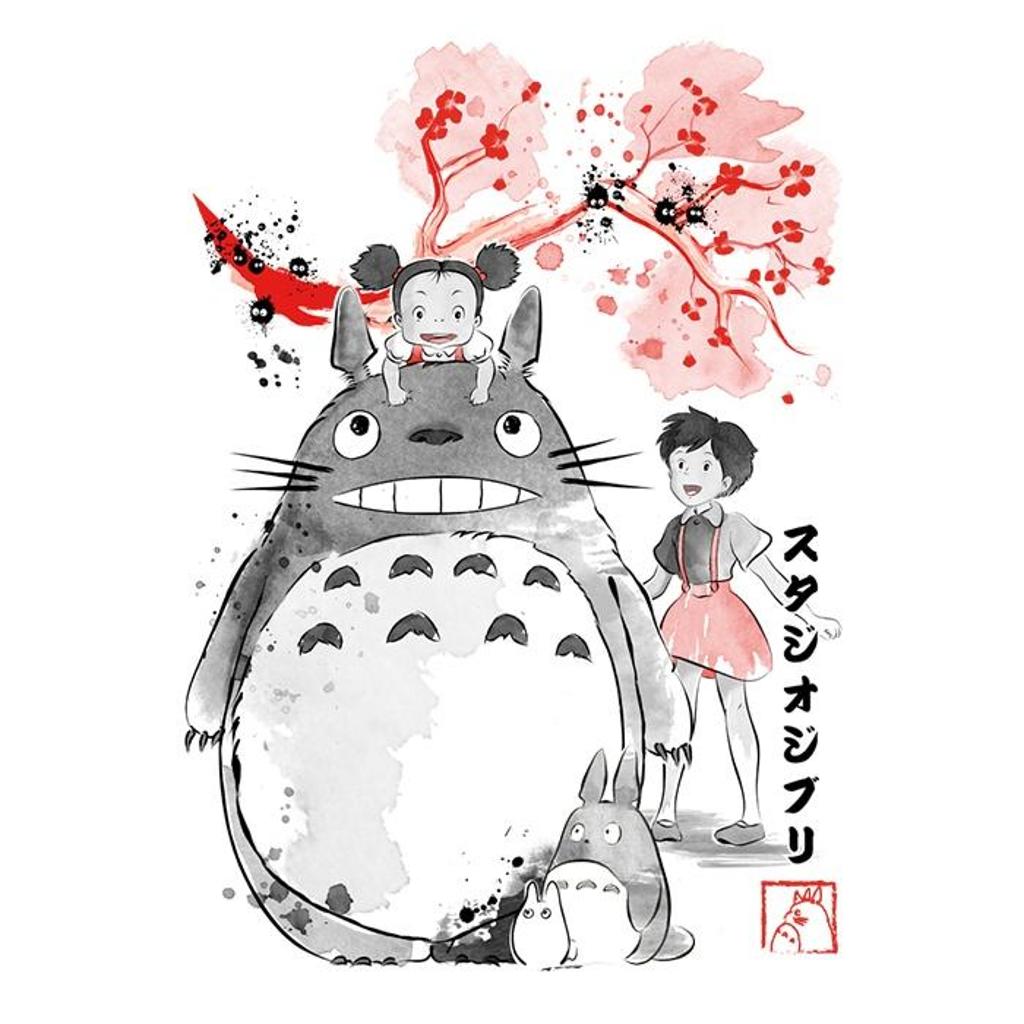 Once Upon a Tee: My Neighbor Sumi-e