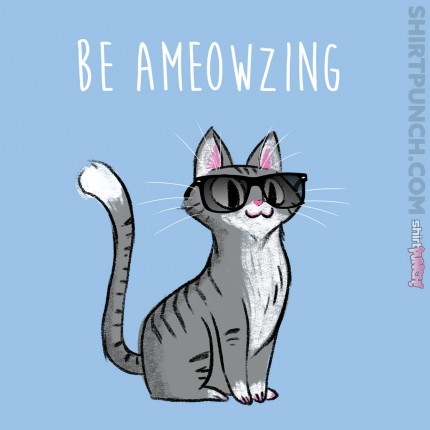 ShirtPunch: Be Ameowzing
