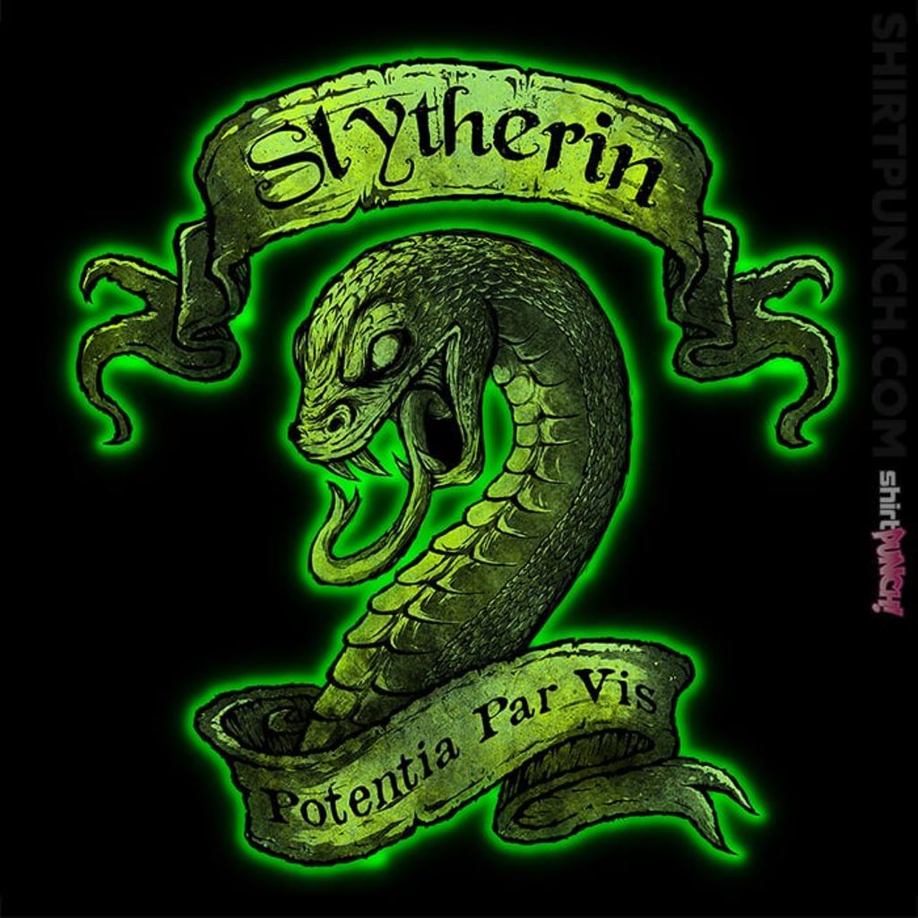 ShirtPunch: Slytherin