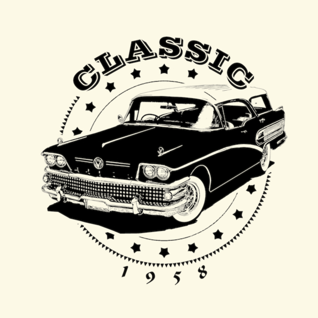 NeatoShop: Classic Car 1958