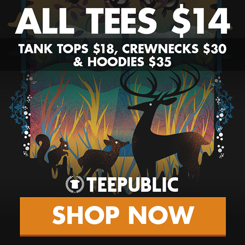 TeePublic: $14 May Sale