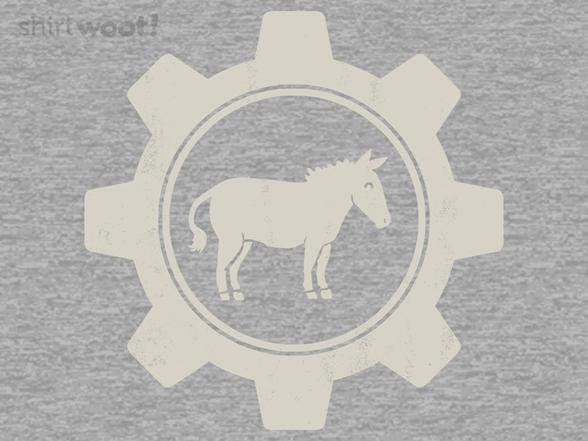 "Woot!: ""Ass in Gear"" Jersey Zip Hoodie"