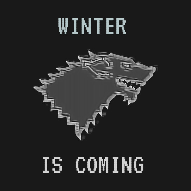 TeePublic: Throne Games - 8-Bit Wolf
