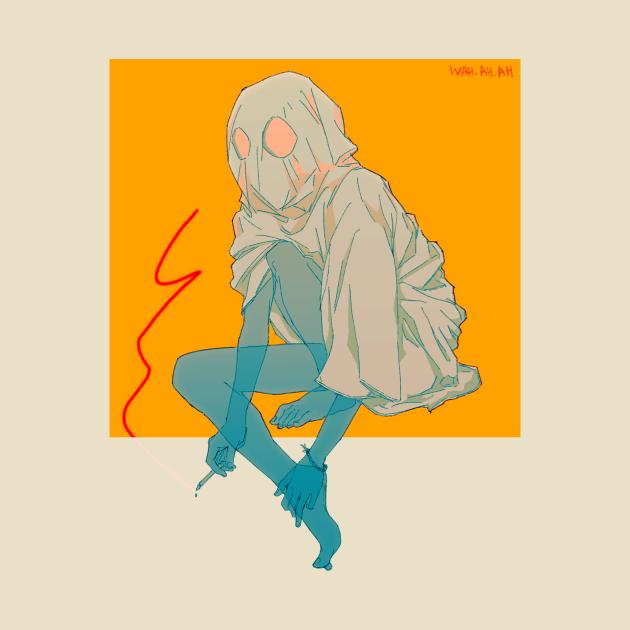 TeePublic: Smoking ghost