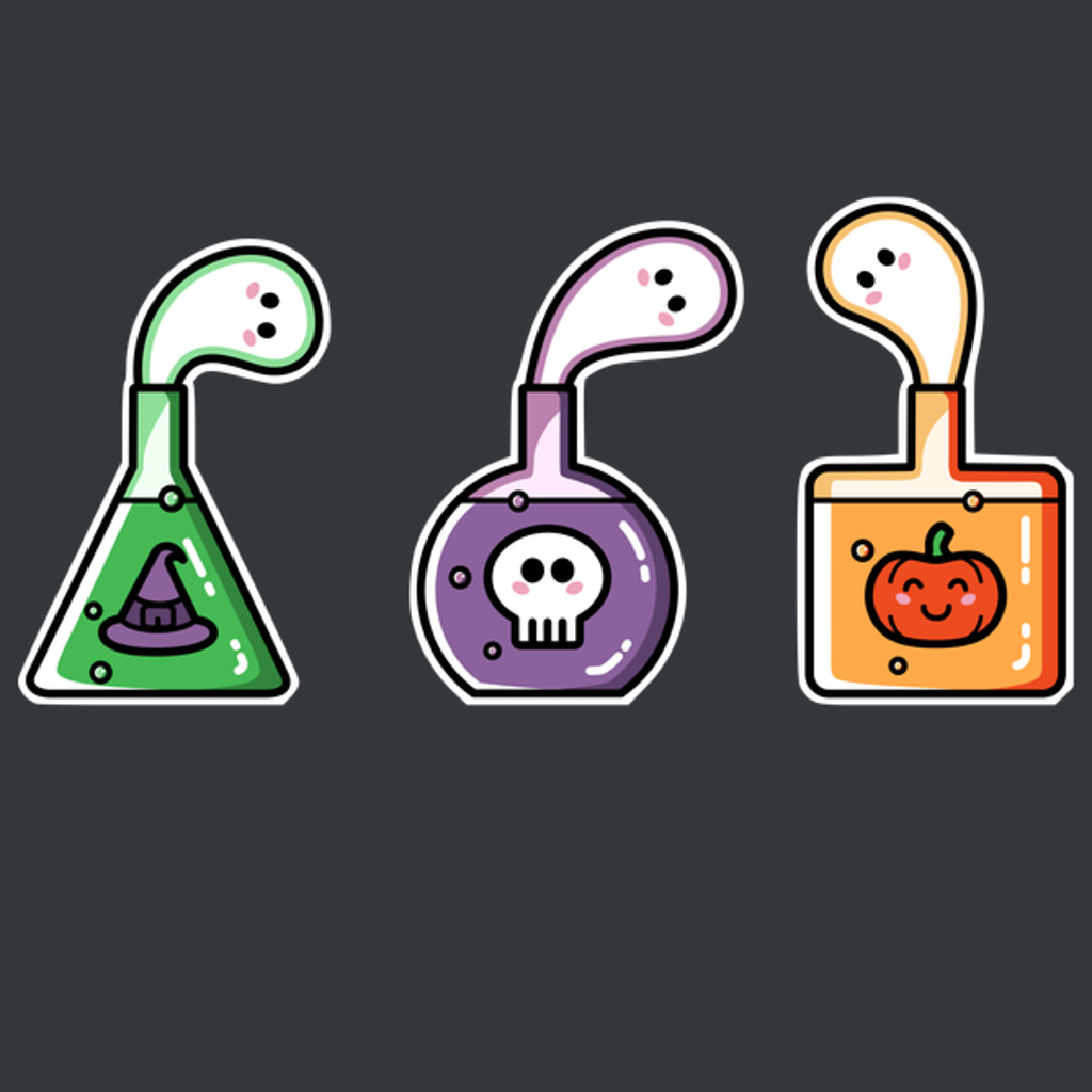 NeatoShop: Halloween Ghost Potions