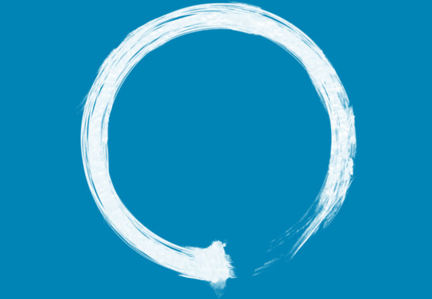 Design by Humans: Zen Enso White