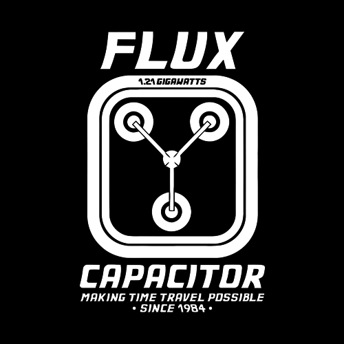 Five Finger Tees: Flux Capacitor