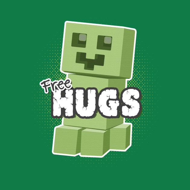 TeePublic: Free Hugs