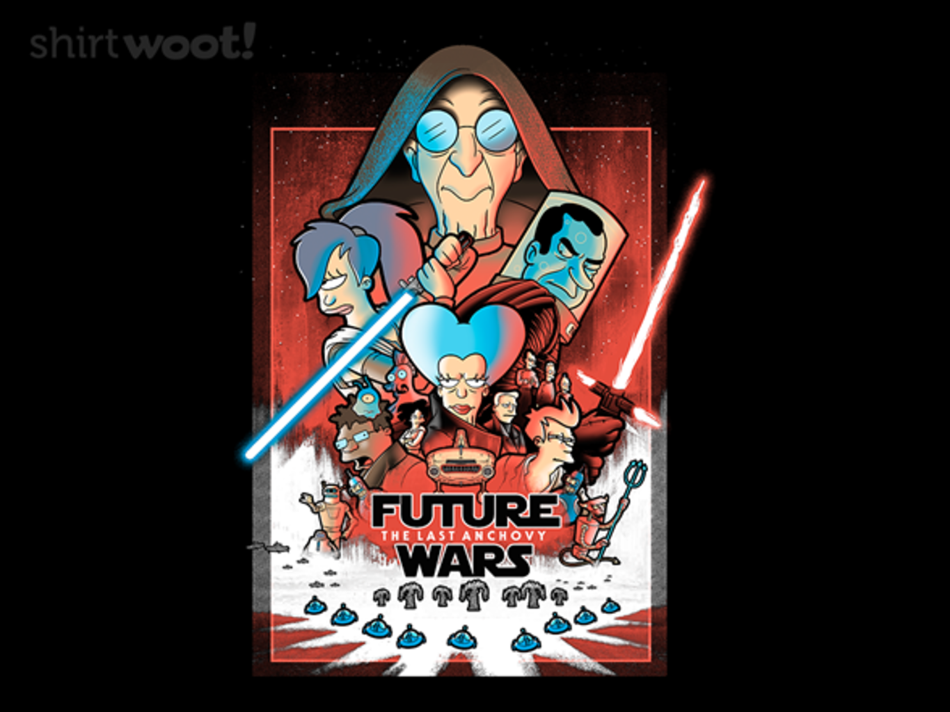 Woot!: Future Wars: The Last Anchovy