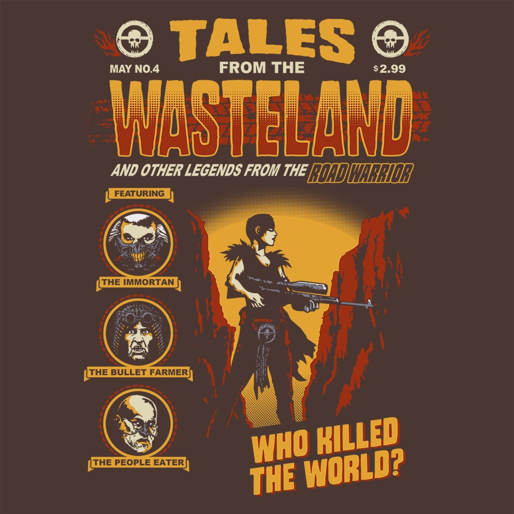 Pop-Up Tee: Wasteland