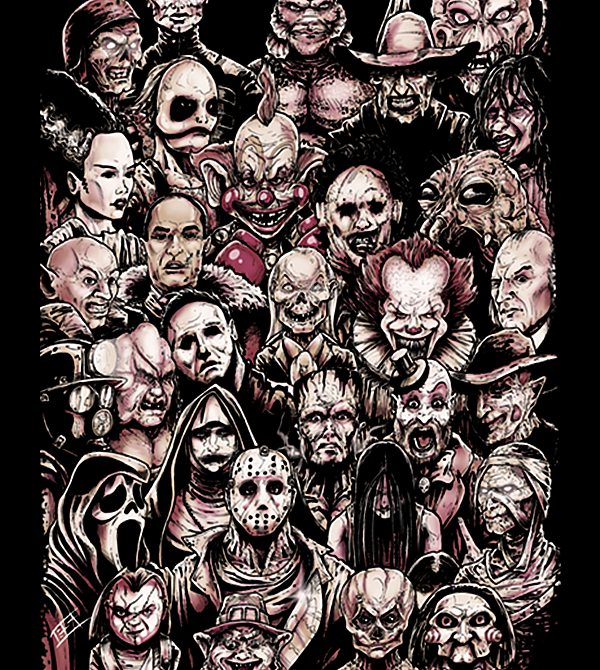 teeVillain: 31 Horrors
