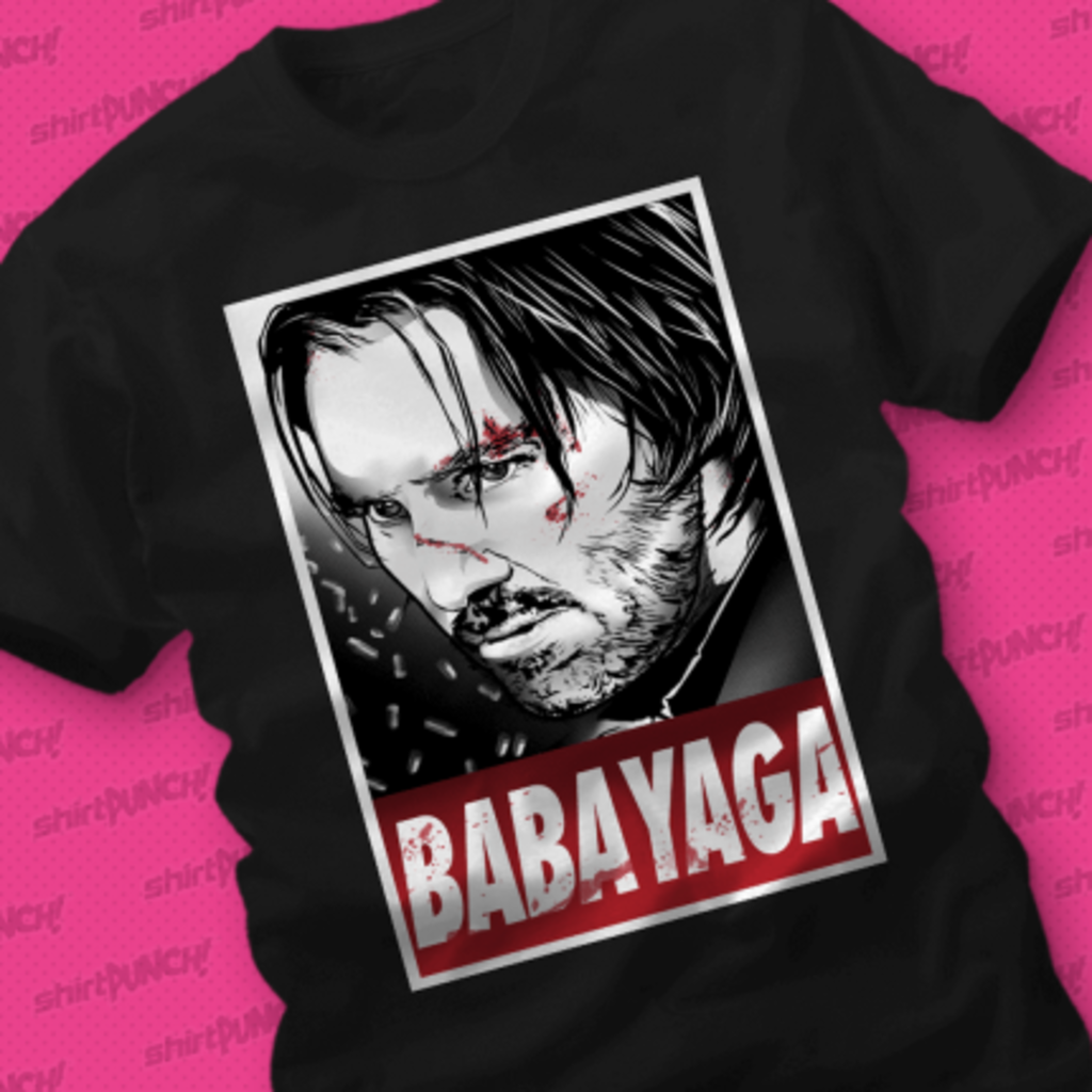 ShirtPunch: Baba Yaga