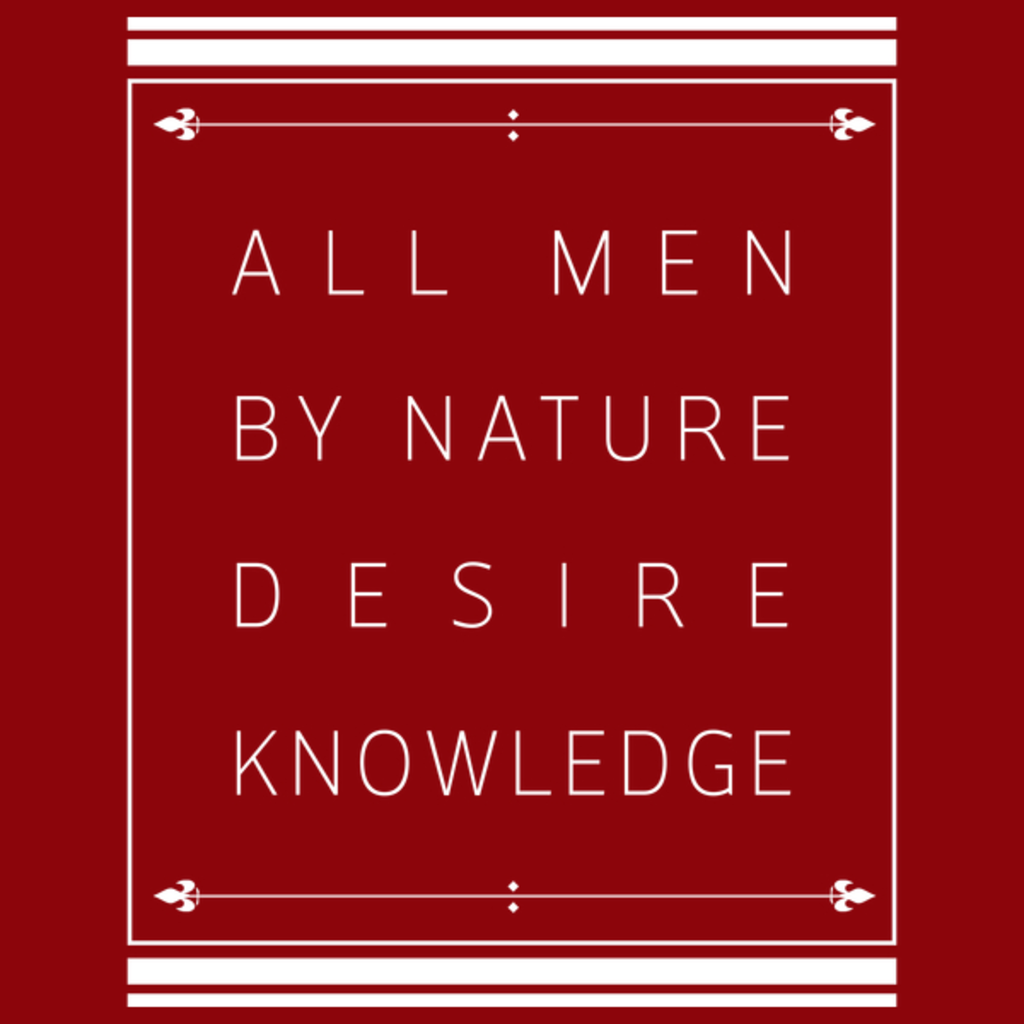 NeatoShop: Ajin - All men by nature desire knowledge