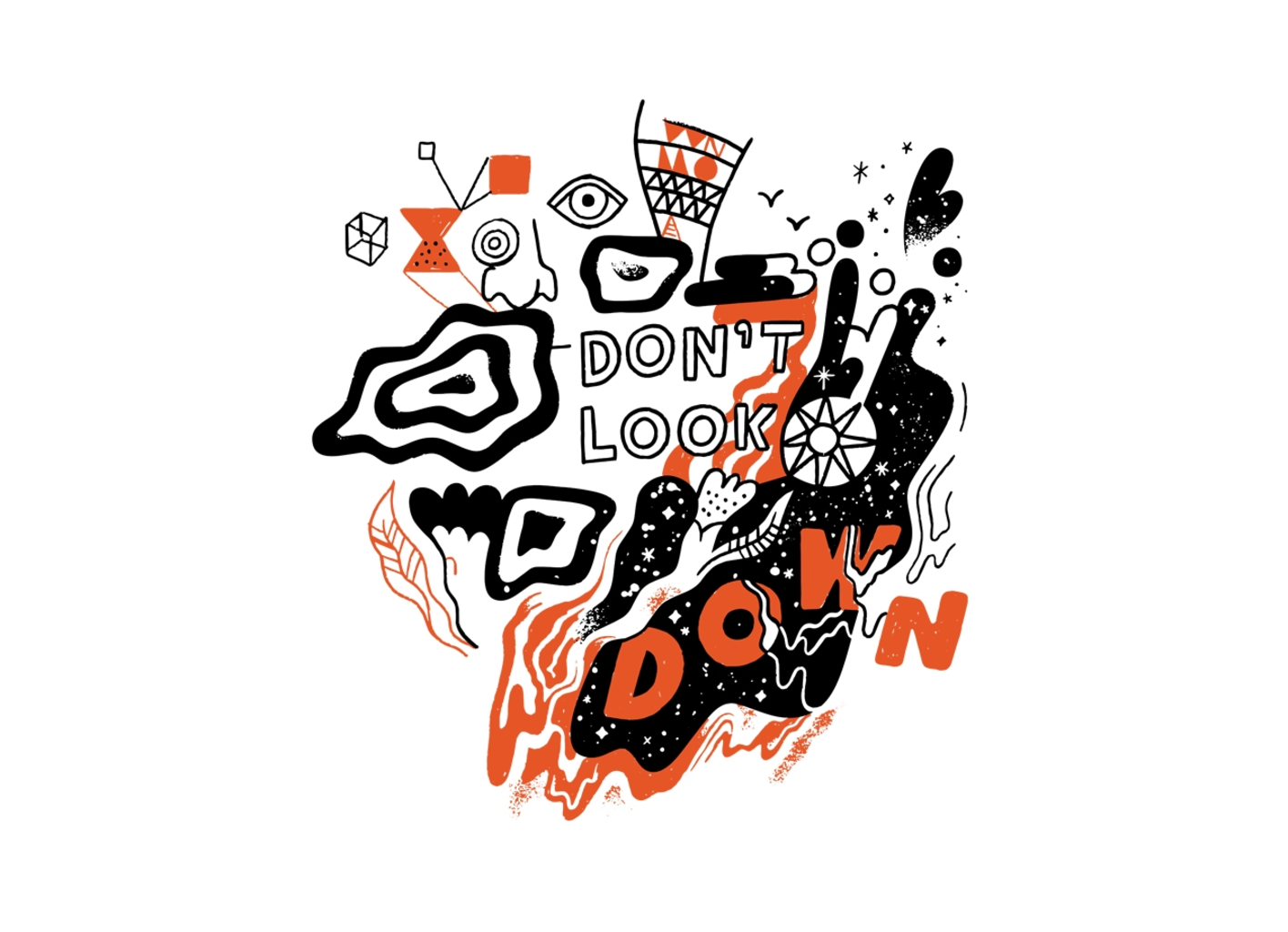 Threadless: Don't Look Down