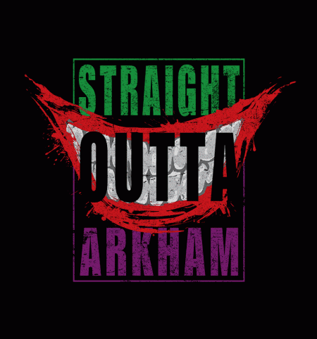BustedTees: Straight Outta Arkham