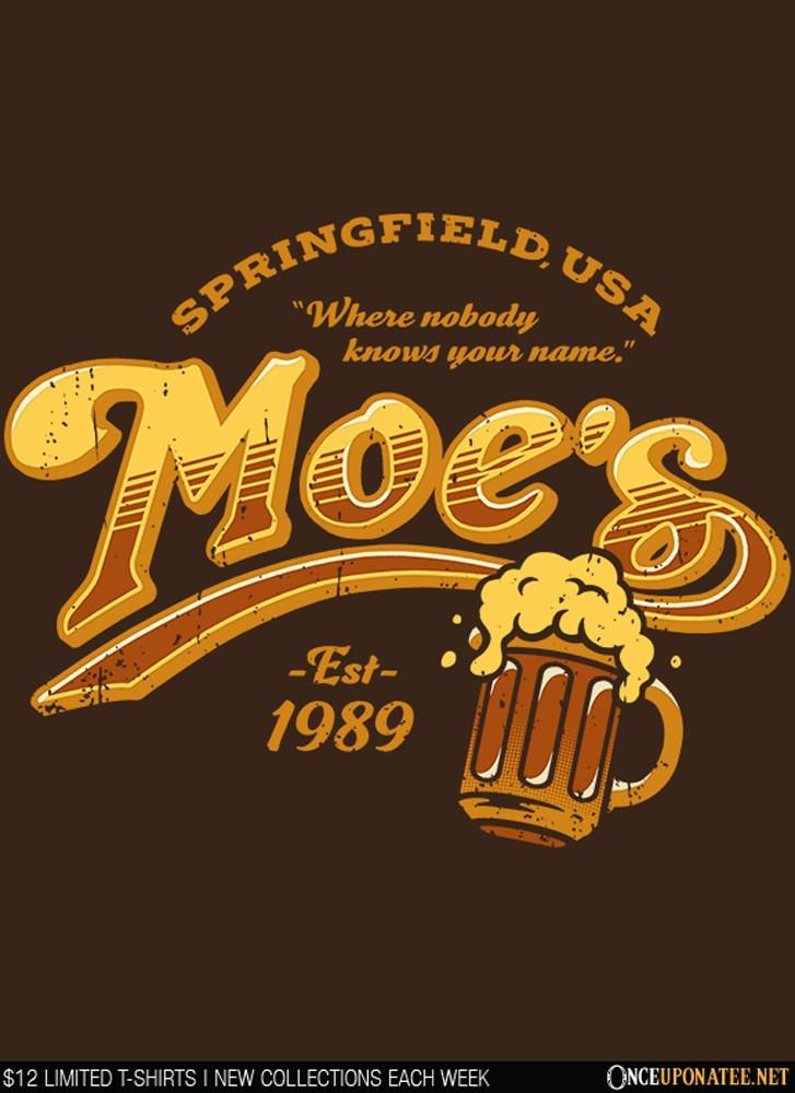 Once Upon a Tee: Moe's Tavern-1