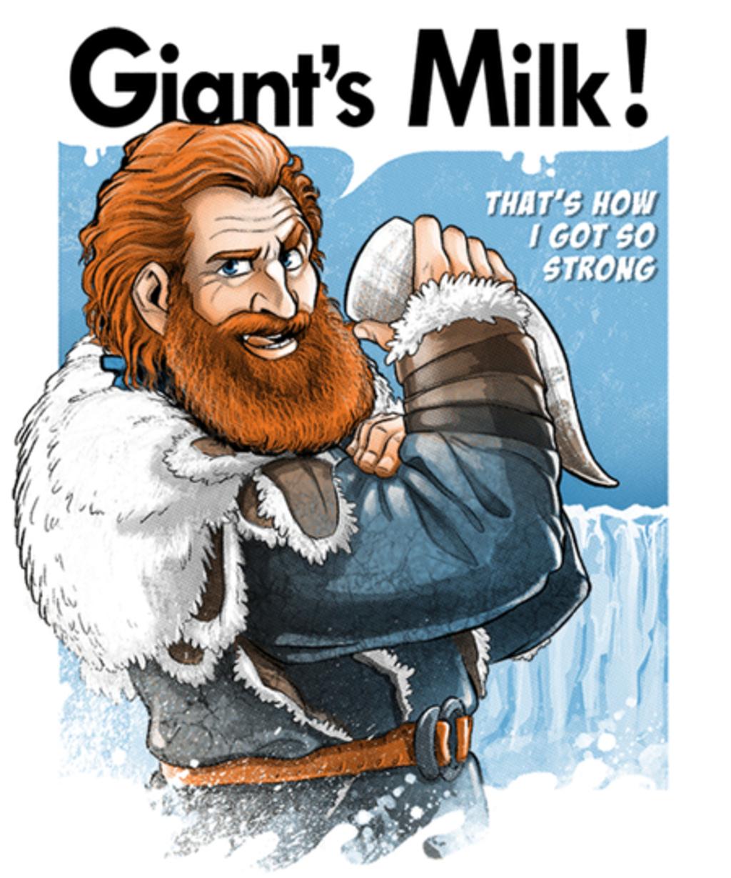 Qwertee: Giant's Milk!