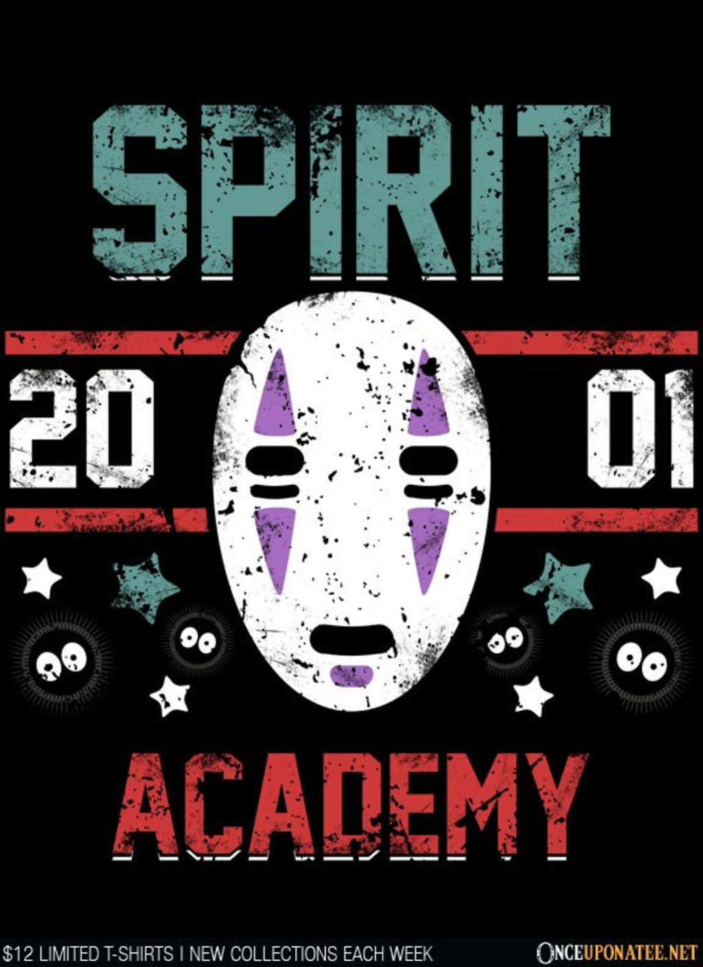 Once Upon a Tee: Spirit Academy
