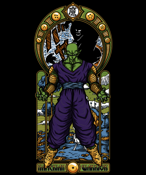 Qwertee: Namekian Warrior