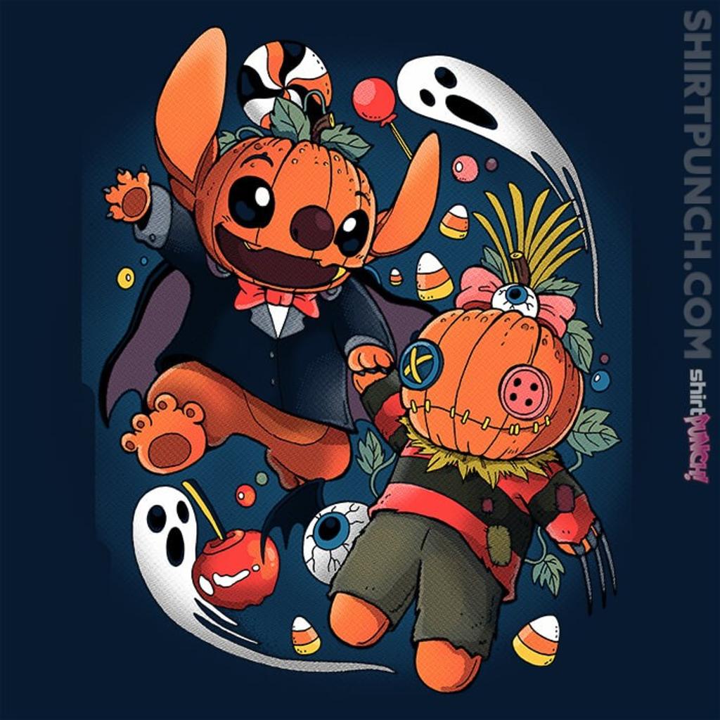 ShirtPunch: Experimental Halloween