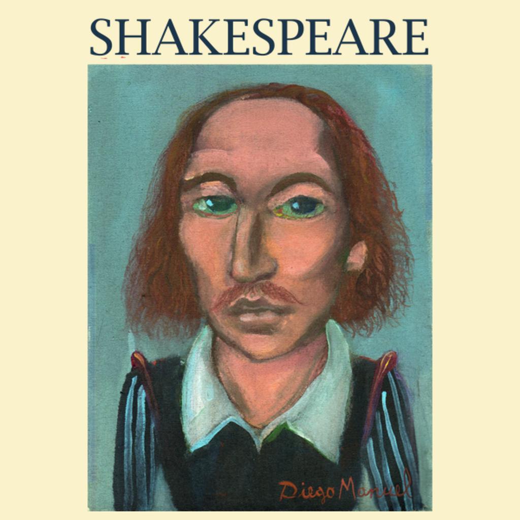 NeatoShop: William Shakespeare portrait