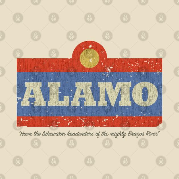TeePublic: Alamo Beer Vintage