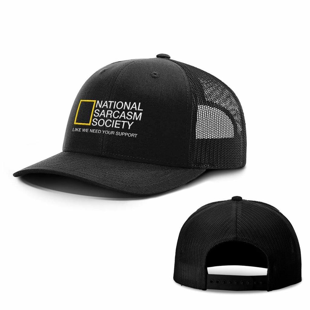 BustedTees: National Sarcasm Society Hats