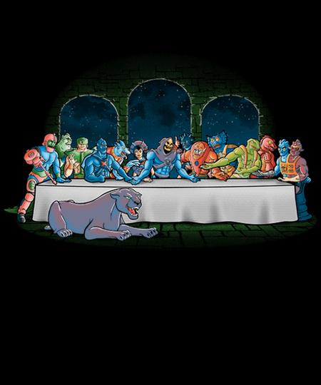 Qwertee: Grayskull dinner