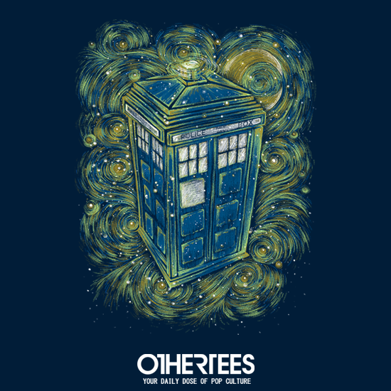 OtherTees: The Doctor in the Starry Night