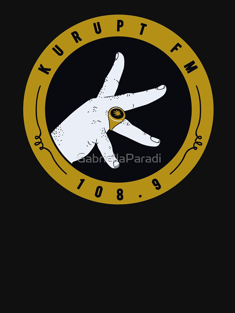 RedBubble: Kurupt Fm logo as seen on People just do nothing