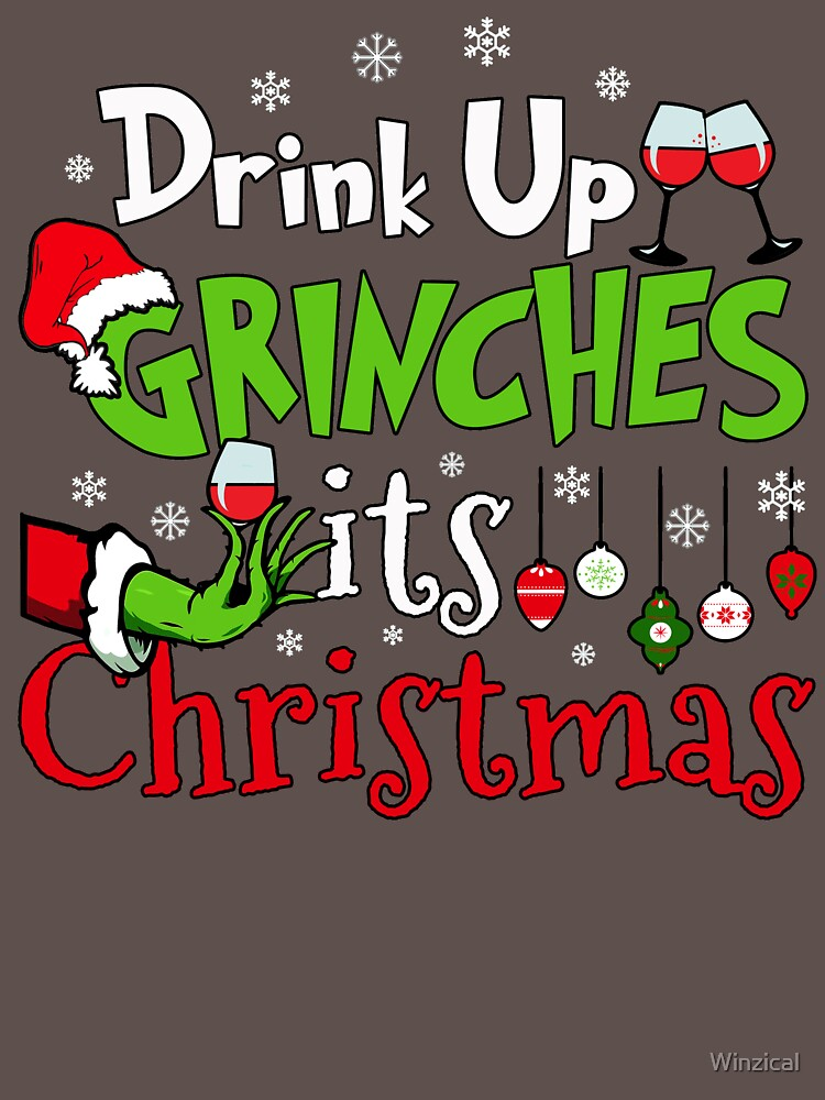 RedBubble: Drink Up Grinches