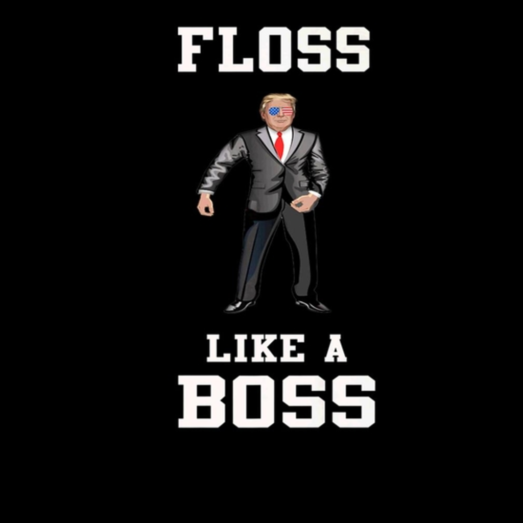 BustedTees: Floss like a boss Trump Independence day Gift