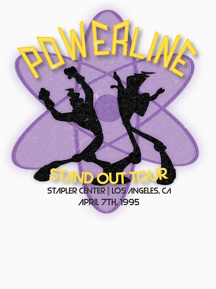 RedBubble: Vintage Powerline Concert Logo - A Goofy Movie