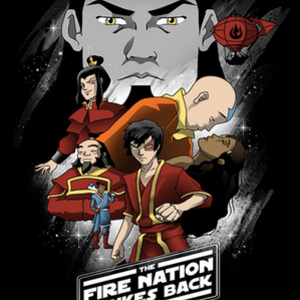 Once Upon a Tee: Fire Nation Strikes Back