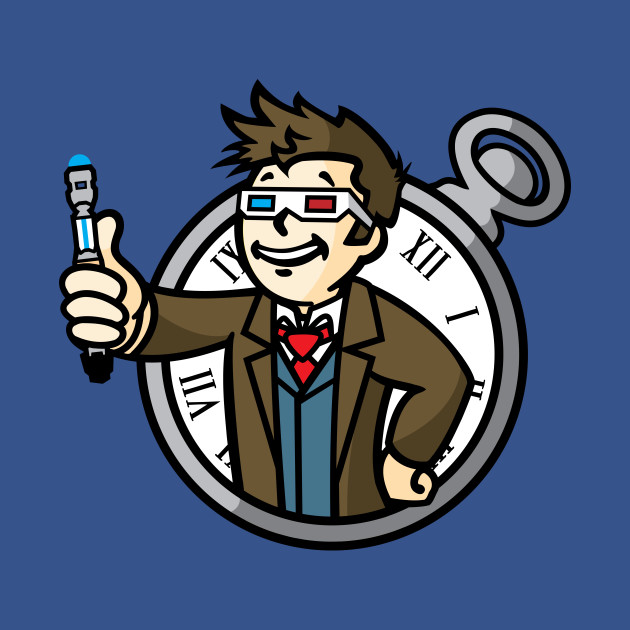 TeePublic: 10th Doctor Boy