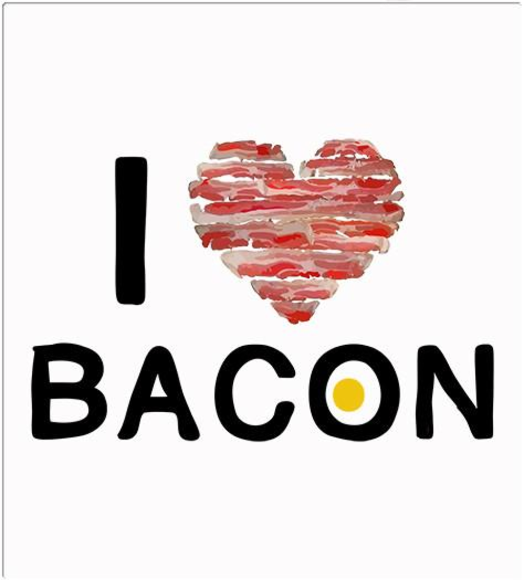 Shirt Battle: I Heart Bacon