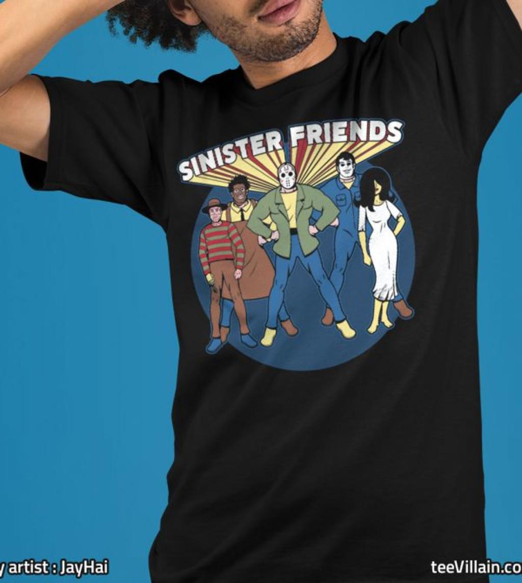 teeVillain: Sinister Friends