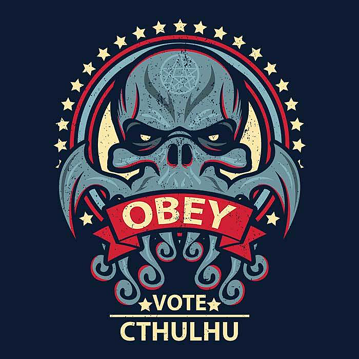 Once Upon a Tee: Vote Cthulhu