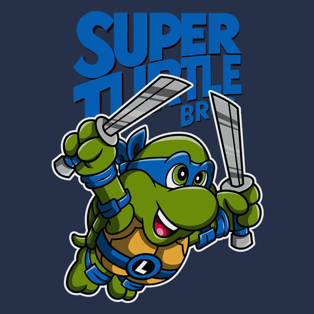 Pop-Up Tee: Super Turtle Bros Leo