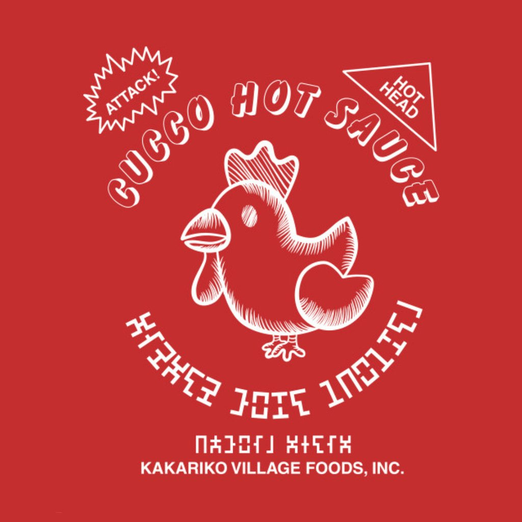 Pop-Up Tee: Cucco Legend of Hot Sauce