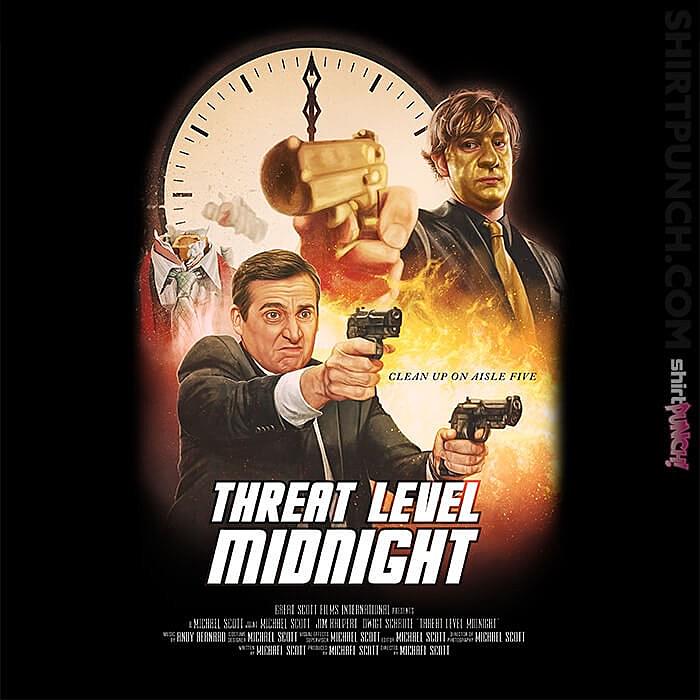 ShirtPunch: Threat Level Midnight