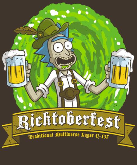 Qwertee: Ricktoberfest