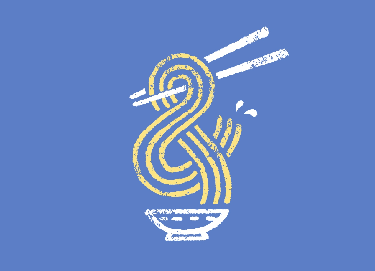 Threadless: Ramen Ampersand