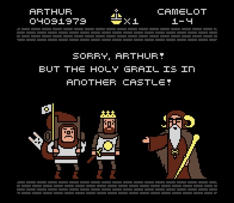 TeeFury: The Grail is in Another Castle