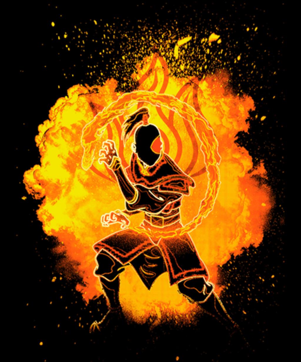Qwertee: Soul of the firebender