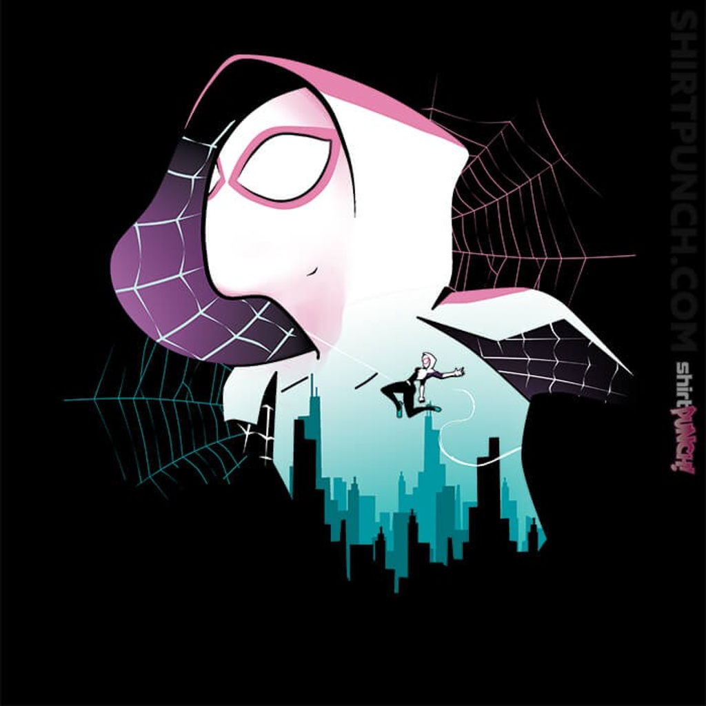 ShirtPunch: Spider Gwen